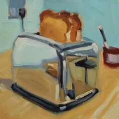 Art Realism michael chamberlain: March 2013 Decorating your Bedroom with Platform Bed Article Body: Painting Inspiration, Art Inspo, Academic Drawing, Food Painting, Paintings Of Food, Painting Art, A Level Art, Painting Still Life, Ap Art