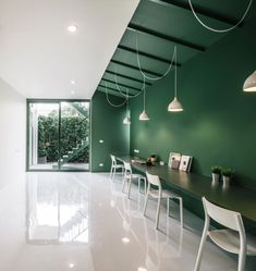 Green 26 TV production office by Anonym, Bangkok – Thailand » Retail Design Blog