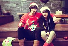 haha, korean couple clothing is always very fun to wear. :D