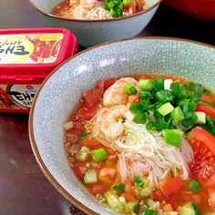 レシピとお料理がひらめくSnapDish - 11件のもぐもぐ - Cold somen noodles with Korean paste ピリからそうめん by chocolatte