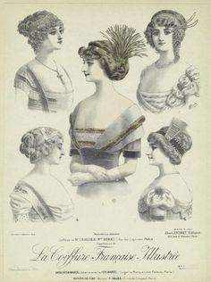 Hair Styles. 1913 | Vintage hairstyles for long hair ...