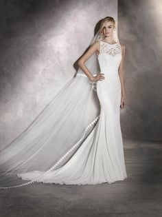 arlet wedding dress by @pronovias