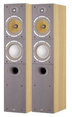 Slimmer than its predecessor, the Bowers& Wilkins is a floorstander. Hifi Speakers, Monitor Speakers, Hifi Stereo, Bookshelf Speakers, Hifi Audio, Floor Standing Speakers, Speaker System, Loudspeaker, Audio Equipment