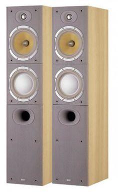 Slimmer than its predecessor, the Bowers& Wilkins is a floorstander. Hifi Speakers, Monitor Speakers, Hifi Stereo, Bookshelf Speakers, Hifi Audio, Floor Standing Speakers, Loudspeaker, Audio Equipment, Audiophile