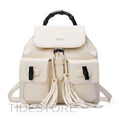 Fashion Strap And Tassel Decoration PU Women Backpack