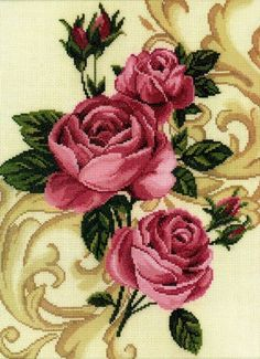 Вышивка Розы (RTO)