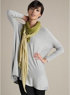 Eileen Fisher... Comfy clothes heck yes