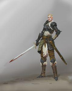 female knights female warrior woman armor fantasy