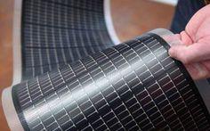 Гибкие солнечные панели из Томска
