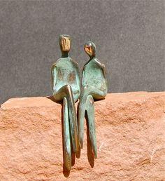 T H E  T W O  O F  U S  Romantic Bronze Love di YennyCocq su Etsy, $220.00