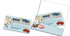 Einladung zum Kindergeburtstag - Bowling Ticket