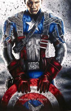 The Avengers Captain America HD Wallpapers Captain America Tattoo, Captain America Drawing, Captain America Poster, Captain America Wallpaper, Captain America Shield, Marvel Comics, Marvel Art, Capitan America Marvel, Marvel Tattoos