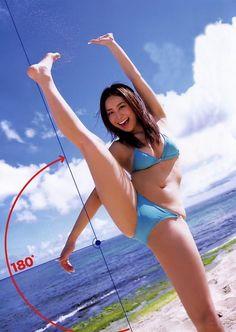 新体操上がりの美女とかとやりてぇ〰www こんな体柔らかかったら男の夢が( *´艸`) Y字バランス軟体エロ画像50枚 - エロ画像ボッキーズ