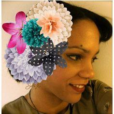 Autoportrait fleurs, created by sara-ki on Polyvore