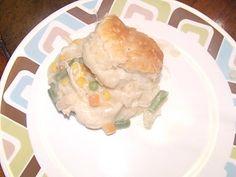 Keeping it simple: chicken pot pie
