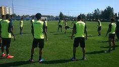BotafogoDePrimeira: Sem Camilo, Bota faz primeiro treino no Chile ante...