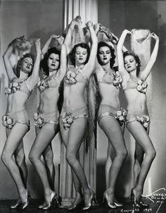 Chorus Girls - c. 1939
