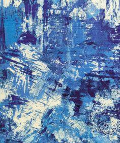 Liberty Art Fabrics Porthmeor Beach Silk Linen Atlantic Ocean   Home   Liberty.co.uk