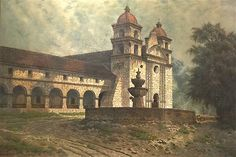 "Hi Everyone, I need to get some ""action"" going on this blog post right away and I am wondering if you can help me? Please go to this FACL blog post about the work we did on the Edwin Deakin paintings of the missions of CA... and would you please leave a 5 star intelligent comment(and give it a thumbs up)?!?…"