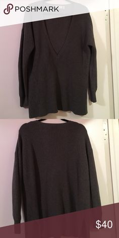 cd1f50300278fa Selling this 525 America V-Neck Sweater on Poshmark! My username is   egreenspan31