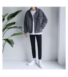 Discover recipes, home ideas, style inspiration and other ideas to try. Mode Outfits, Korean Outfits, Grunge Outfits, Fashion Outfits, Stylish Mens Outfits, Casual Outfits, Men Casual, Mode Streetwear, Streetwear Fashion