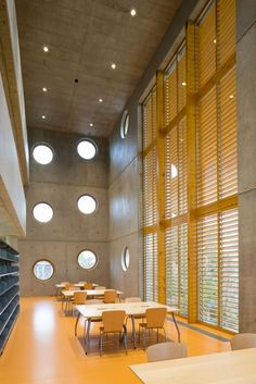 The circular-patterned façades in this collection operate in sharp contrast to the constructed form of the buildings and the spaces within them. Here, the ci...