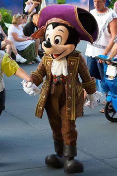 Mickey Mouse- pirate princess party -2007-2008 magic kingdom :)