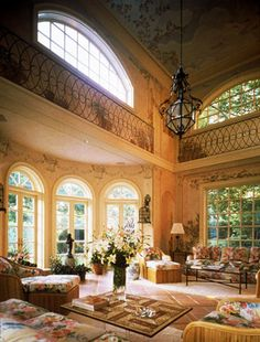 McMillen, Inc.Grand Loggia for an Indoor Pool