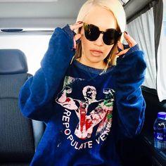 Shop Rita Ora's House Of Holland Gold Glasses | Instagram Fashion