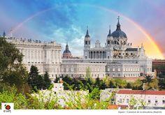 La Almudena y el arco iris