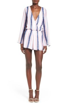 Featuring both Pantone colors of the year and the lingere-inspired silhouette, this Lieth romper is a perfect addition to your '16 spring wardrobe
