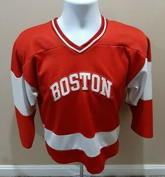 Up for sale is an excellent pre-owned condition Boston University Terriers NCAA Ice Hockey Youth Jersey Size Small. Ice Hockey Jersey, Basketball Jersey, Boston University Terriers, University Of Minnesota, Nike Men, Youth, Spirit, Facebook, Store