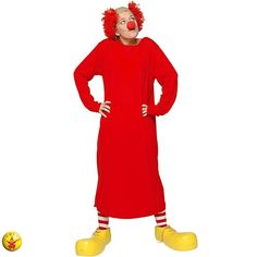 Disfraz de Payaso Charlie #payasos #disfraces