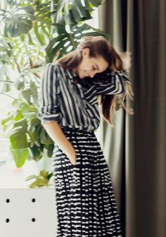 #spring #summer #fashion #stripes #herstyle