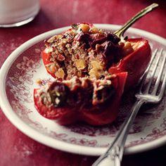Zapiekane papryki chili con carne
