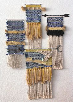 Wall Hangings for BellJar SF Could use denim incorporated in fibers class