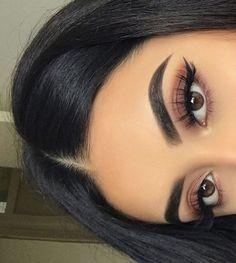 Gorgeous Makeup: Tips and Tricks With Eye Makeup and Eyeshadow – Makeup Design Ideas Makeup Eye Looks, Red Makeup, Cute Makeup, Gorgeous Makeup, Pretty Makeup, Skin Makeup, Eyeshadow Makeup, Witch Makeup, Makeup Brushes
