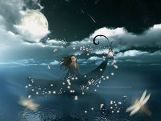 """""""Be mindful always of your thoughts as they carry the powerful energy of manifestation.""""  - Jasmeine Moonsong"""