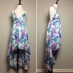 BNWT LF printed high low maxi dress Brand new never worn. Perfect for summer LF Dresses High Low