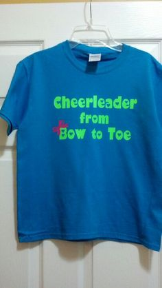 Cheer shirts on the Cameo!