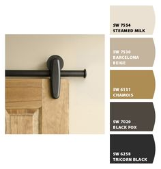 """BARCELONA BEIGE -- Paint colors from Chip It! by Sherwin-Williams -- for """"hallway"""" on main floor"""