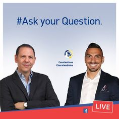 In less than 2 hours  (2pm EET) I am so happy to welcome Constantinos Charalambides the Captain of the Cyprus National Football Team - as my guest for #AskVirardi episode 110! Constantinos is not only a unique football talent but also an exceptional character hence my invitation to join us at #AskVirardi. Feel free to pose your question on #determination, #drive, #sacrifice to achieve your goals and dreams. #MVirardi https://www.facebook.com/MichaelVirardi/