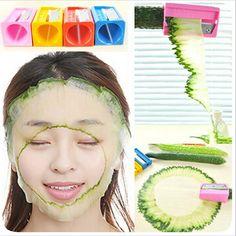 New cucumber beauty mask cucumber slicer kitchen accessories cozinha gadget kitchen tools ferramentas accesorios de cocina