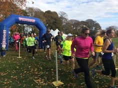 Approximately 227 runners and walkers took part in ALTs 9th annual Race for Open Space Saturday, Nov. 5, along Sakonnet Greenway Trail in Portsmouth.