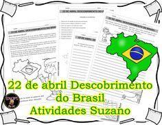 22 de Abril Descobrimento do Brasil - Atividades Adriana