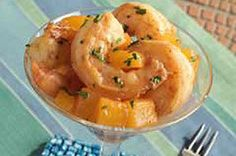 Please the shrimp lovers at the party (that is to say, everyone) with this Healthy Living shrimp recipe served with chunks of pineapple and mango.