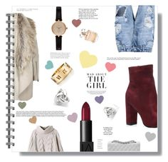 """""""Page 1/first try"""" by jckallan ❤ liked on Polyvore featuring River Island, Barbour, NARS Cosmetics, Chanel, Tiffany & Co., Elie Saab, Georgini and Kershaw"""