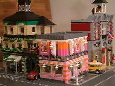 50+ CUSTOM LEGO INSTRUCTIONS like MODULAR DONUT SHOP for 10185 Green Grocer