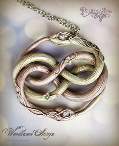 love this take on the Auryn :) (The Neverending Story)
