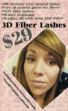 "☆☆ AMAZING 3D LASHES ☆☆ You will never go back to ""regular"" mascara again ♡ www.youniqueproducts.com/TonyaBeYouniq"